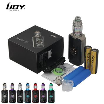 IJOY Zenith 3 Kit With Dual 20700 Batteries Zenith 3 360W Box MOD With IJOY Diamond Subohm Tank vs Avenger E Cigarette Vape
