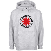 red hot chili peppers Hoodie Sweatshirt Sweater Shirt Gray and beauty variant color for Unisex size