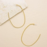 Everyday Oval Hoop Earrings