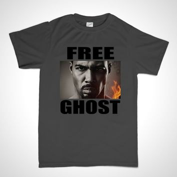 Free Ghost Short Sleeve T-Shirt James St. Patrick Power TV Show Shirt