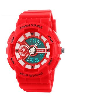 Sports Chronograph Waterproof Watch For Women