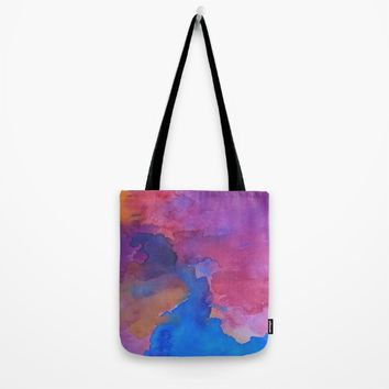 Close Your Eyes Tote Bag by DuckyB