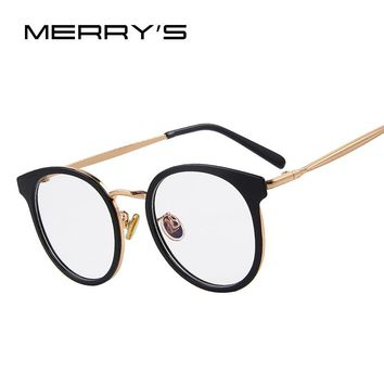MERRY'S Women Retro Cat Eye Optical Frames Eyeglasses Classic Glasses S'8114