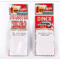 Diner Magnetic Note Pad