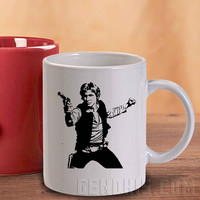 Star Wars Han Solo Mug And Cup / Custom Mug / Custom Cup