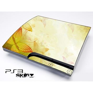 Abstract Butterfly Skin for the Playstation 3