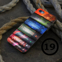 Harry Potter Book Collection - iPhone 4/4s, iPhone 5/5S, iPhone 5C and Samsung Galaxy S3/S4 Case.