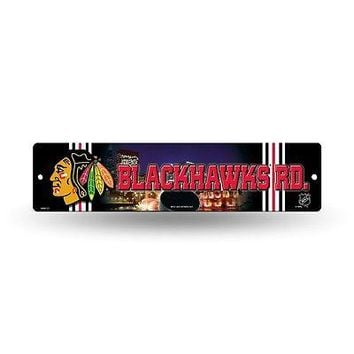 "Chicago Blackhawks NHL Hockey 16"" Street Sign Fan Wall Decor"