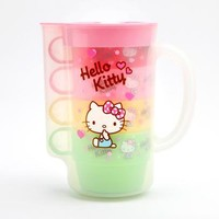 Hello Kitty Pitcher and Cups: Pink Heart
