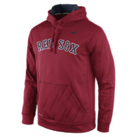 Nike Speed KO Pullover (MLB Red Sox) Men's Training Hoodie Size XL (Red)