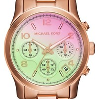 Michael Kors 'Pink Catwalk' Chronograph Watch, 39mm