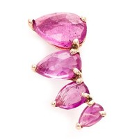 Jacquie Aiche Ruby Ear Cuff - Traffic Women - Farfetch.com