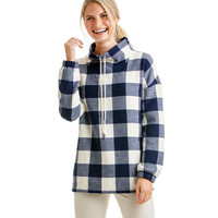 Buffalo Check Doubleface Sweatshirt