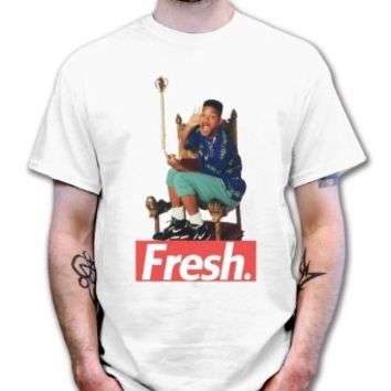 Fresh Prince of Bel Air Throne T shirt