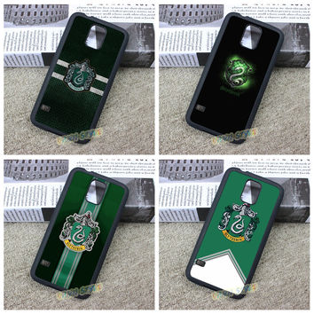 Slytherin Traits harry potter fashion cell phone case cover for Samsung galaxy S3 S4 S5 S6 S6 edge S7 S7 edge Note 3 4 5 #ZH79
