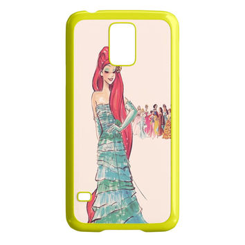 Vintage Disney Princess Ariel Samsung Galaxy S5 Case