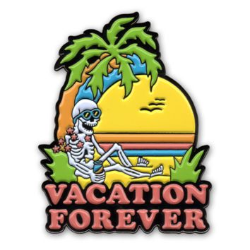 Vacation Forever Pin