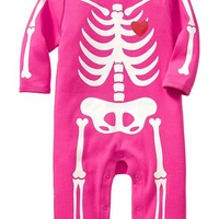 Halloween-Graphic One-Pieces for Baby