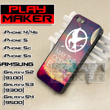 Hunger Games Quote - iPhone 4/4s, iPhone 5, 5s, 5c, Samsung Galaxy i9200 s2, i9300 s3 and i9500 s4 Case