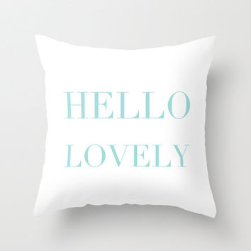 Best Tiffany Blue Throw Pillow Products On Wanelo New Tiffany Blue Decorative Pillows