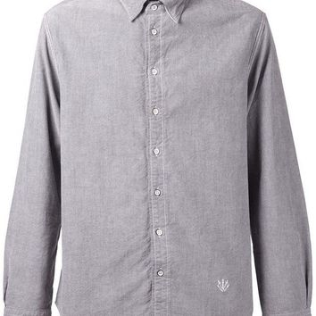 DCCKIN3 Rag & Bone embroidered logo shirt