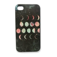CrazyPomelo Eclipse Of The Moon Frosted Phone Case For iPhone 5/5s