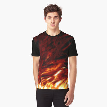 'Hellfire' Graphic T-Shirt by ChessJess