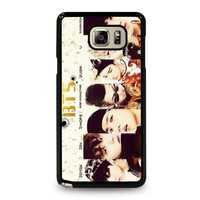BANGTAN BOYS BTS Samsung Galaxy Note 5 Case Cover