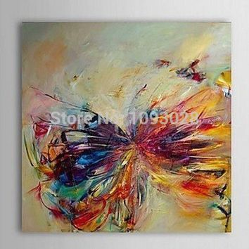 Art Oil Painting Fallout Single Width Sell Butterfly Abstract