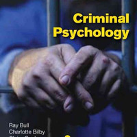 Criminal Psychology: A Beginners Guide (Beginner's Guide)