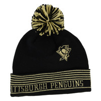 Pittsburgh Penguins NHL Cuffed Pom Knit