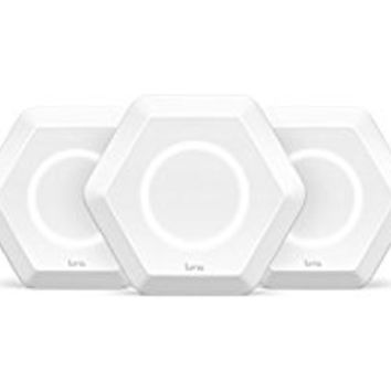 Luma Home WiFi System (3 Pack) - Replaces WiFi Extenders and Routers, Works with Alexa, Simultaneous Dual Band 2.4/5GHz, Parental Controls/Security, Gigabit Speed, WPA/WPA2 Encryption