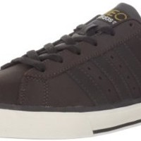 adidas NEO Men's SE Daily Vulc Lifestyle Skateboarding Shoe,Mustang Brown/Dark Sand/Light Clay,7 M US