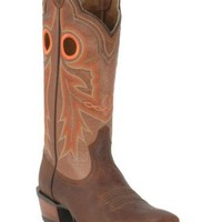Ariat® Wildstock™ Men's Weathered Brown with Quartz Wide Square Toe Western Boots