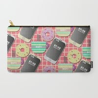 Breakfast Carry-All Pouch by Susana Paz | Society6