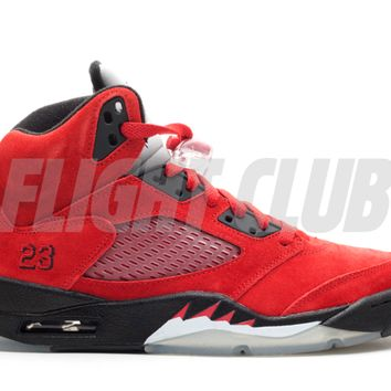 "air jordan 5 retro ""raging bull red suede"" - Air Jordans 