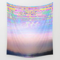 Displaced Wall Tapestry by Dood_L