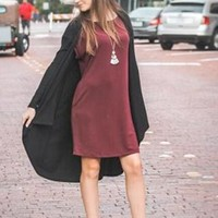 Comfort & Casual Pocket Dress