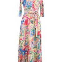 Color Block Lace up Women's Maxi Dress (Plus Size Available)