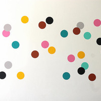 Mini vinyl wall stickers / decal art - Circles