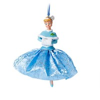 Disney Store 2017 Princess Cinderella Sketchbook Ornament New