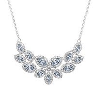 Swarovski Baron Necklace - Silver/Crystal