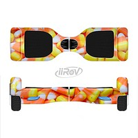 The Candy Corn Full-Body Skin Set for the Smart Drifting SuperCharged iiRov HoverBoard