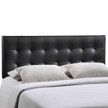 Emily Queen Upholstered Vinyl Headboard