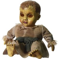 Haunted Doll with Sound Halloween Decoration - Walmart.com