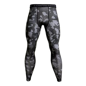 Quick Dry Bodybuilding Compression Pants Men Fitness Tights MMA 3D Camo Joggers for Men Sweatpants Gyms Leggings Mens Trousers