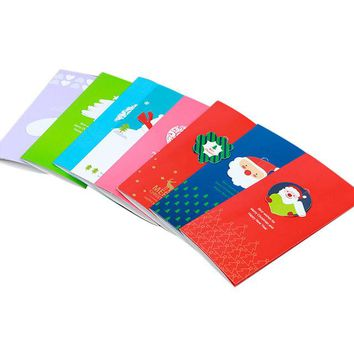 8Pcs Handmade Merry Christmas Greeting Card With Envelope