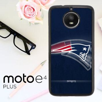 New England Patriots O0953 Motorola Moto E4 Plus Case