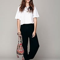 Free People Womens Leighanna Smocked Pant