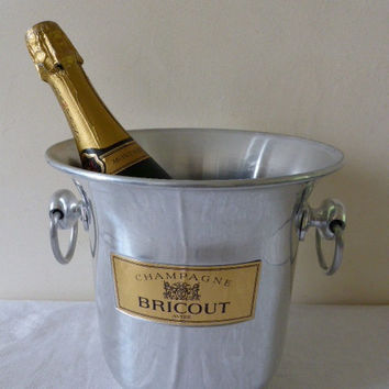 Vintage French Champagne Bucket Bricout